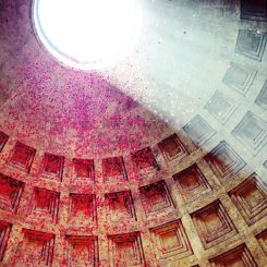 pioggia-di-petali-al-pantheon