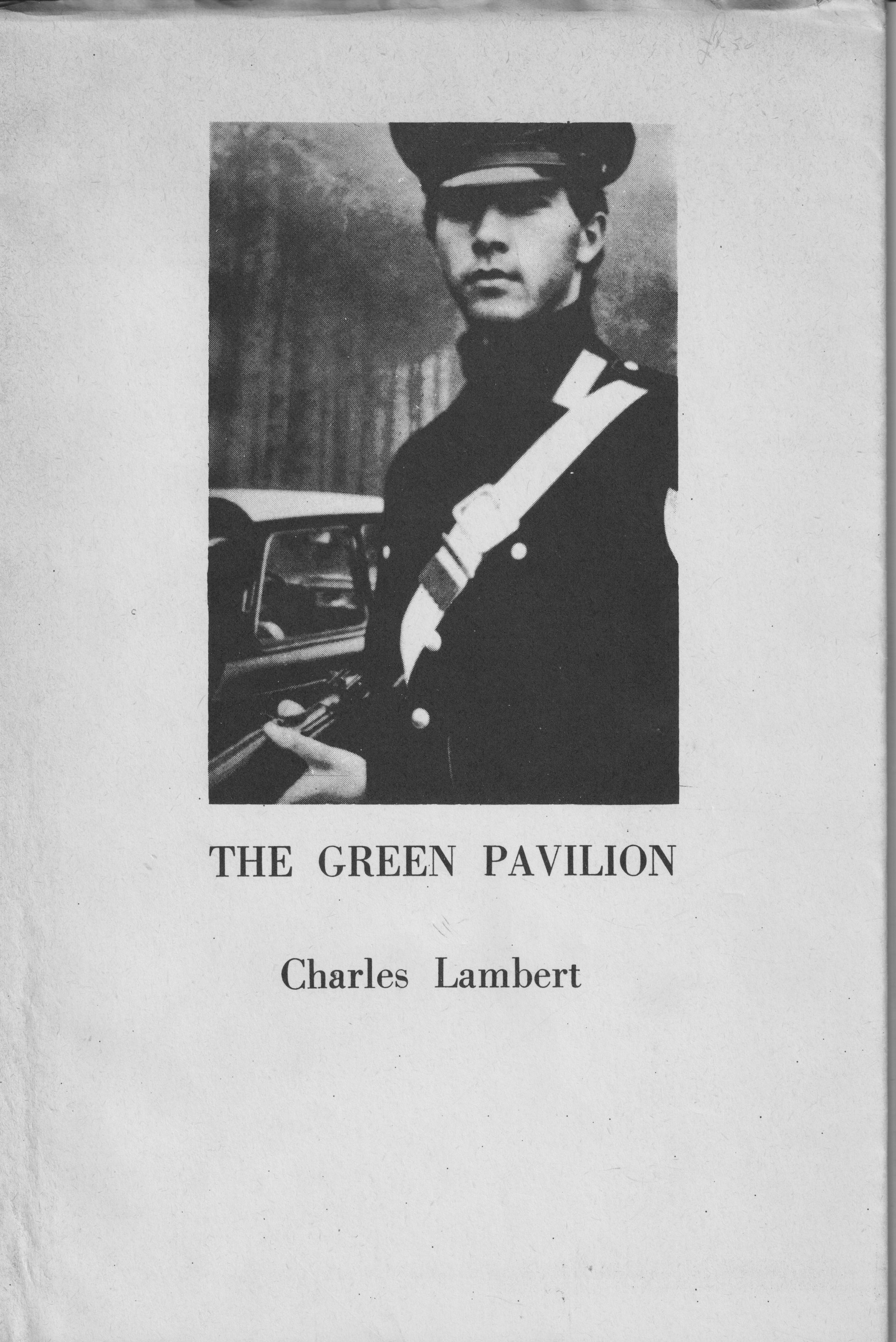 green pavilion cover